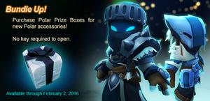 Polar Prize Box ad