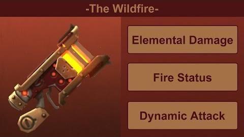 Демонстрация Wildfire