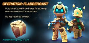 Dazed Prize Box ad