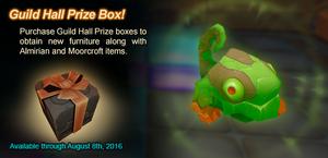 Guild Hall Prize Box ad