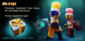 Confection Prize Box ad