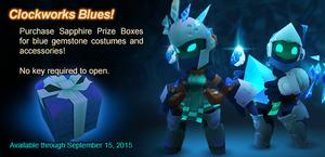 Sapphire Prize Box ad