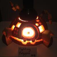 2018 Pumpkin Carving Contest Fighting-Polygon Big Iron