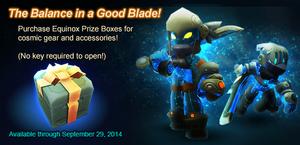 Equinox Prize Box 2014 ad