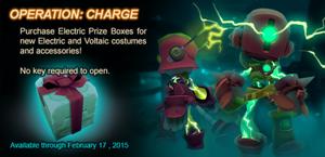 Electric Prize Box ad