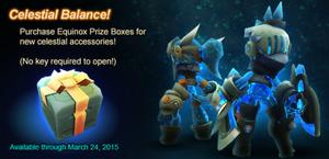 Equinox Prize Box ad