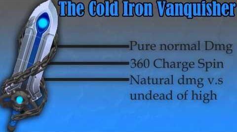 Демонстрация Cold Iron Vanquisher