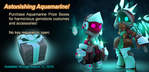Aquamarine Prize Box ad