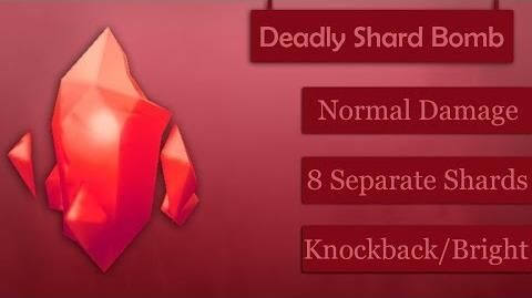 Демонстрация Deadly Shard Bomb