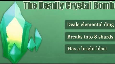 Демонстрация Deadly Crystal Bomb