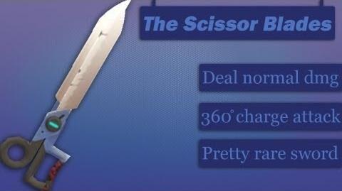 Демонстрация Scissor Blades