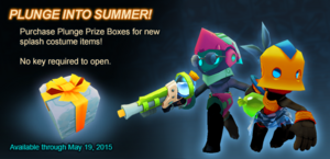 Plunge Prize Box ad