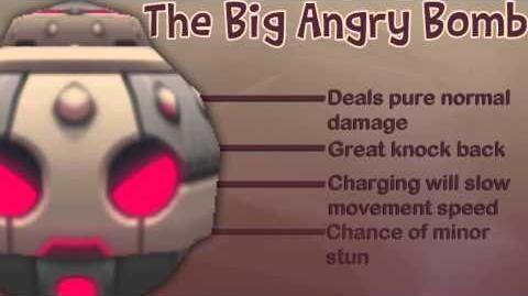 Демонстрация Big Angry Bomb