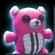 Teddy Bear Buckler Tech Pink