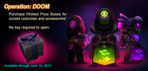 Wicked Prize Box ad