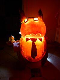 2016 Pumpkin Carving Contest Gustim Mr. Spook