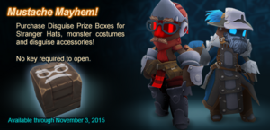 Disguise Prize Box ad