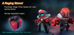 Rage Prize Box ad