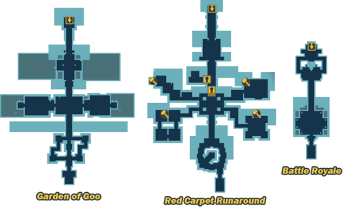 Royal Jelly Palace map