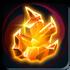 Shining Fire Crystal