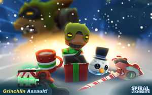 Grinchlin assault items