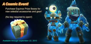 Equinox Prize Box 2015