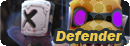 Defender button