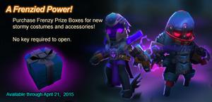 Frenzy Prize Box ad