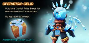 Glacial Prize Box ad
