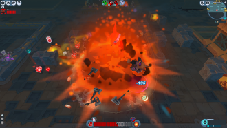 Screenshot Dark Briar Barrage Detonation