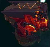 Monster-Red Roarmulus Twins
