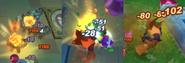Screenshot Damage Numbers