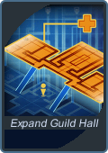 Expand guild hall
