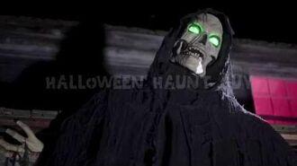 5 Ft Hanging Hell Fiend prop Spirit Halloween