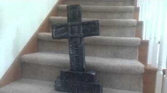 Gemmy Tombstone Cross