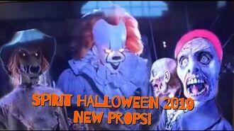 Spirit Halloween 2019 TV Video (New Props!!!)