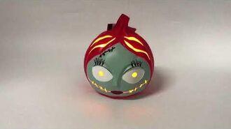 Sally Light Up Pumpkin Demo