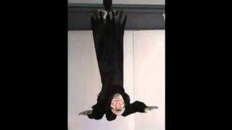 Rocking Vampire Animated Decoration (Hang This Prop)