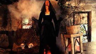 Black Widow Flaming Witch - Spirit Halloween