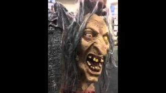 Spirit Halloween, Helga Toad Gutter with Tombstone