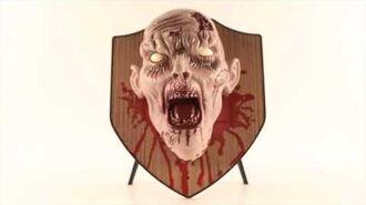 Zombie Head Wall Mount