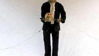 Animated Life-sized Igor the Greeter Prop
