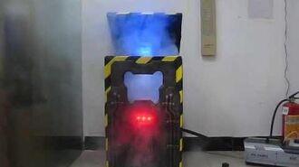 Spirit Halloween Cryo Chamber Corpse Prototype in action!