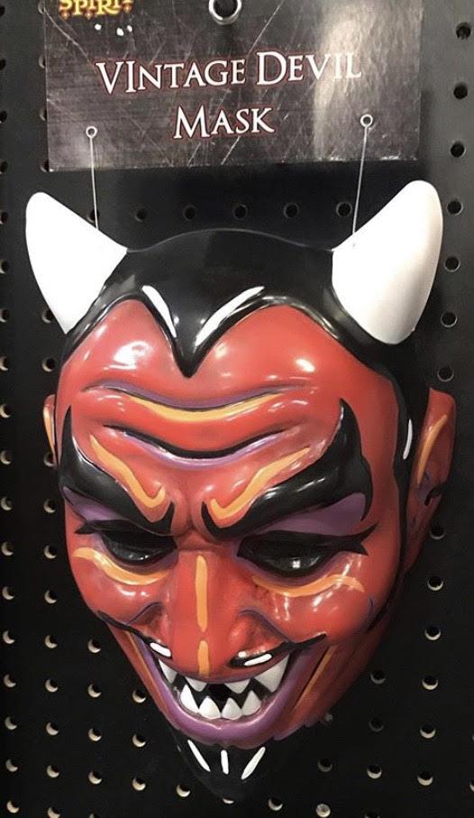 Vintage Devil Mask Spirit Halloween Wikia Fandom Powered