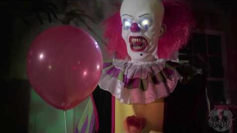 Spirit Halloween Clown Costumes Kids.Video 6 Ft Pennywise Clown Animatronic Spirit Halloween