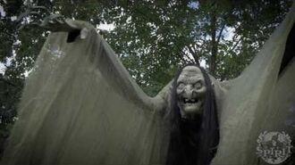 6.5 Ft Towering Witch Animatronic - Spirit Halloween-0