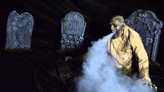 Gaseous Zombie Animated Fog Creature