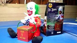Halloween Animated Lil Zappy the Clown