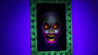 Scary Clown Mirror