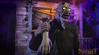 Flesh Eating Zombie - Spirit Halloween-0